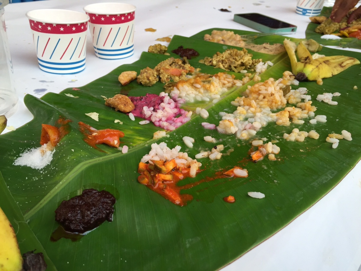 The Onam Sadhya Experience – A Vegetarian Fest at Kerala House, New Delhi