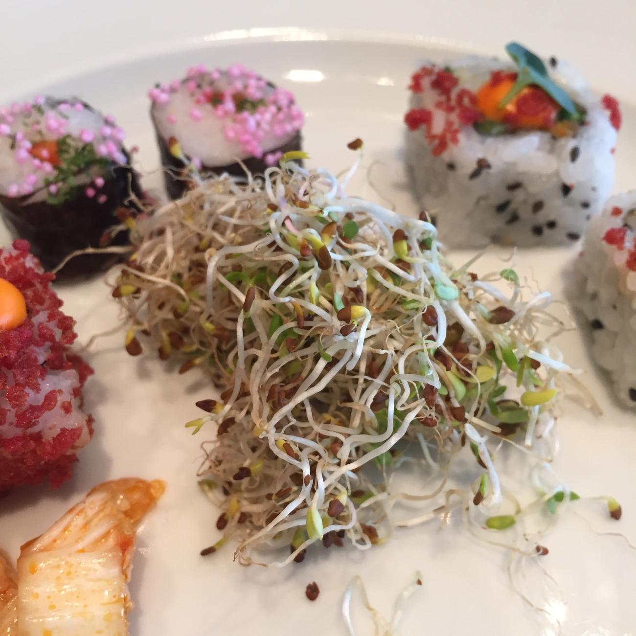 Sushi and Salad