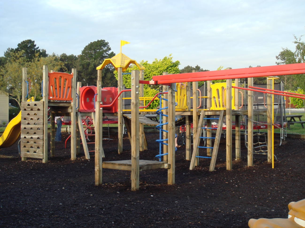 Kids Play Area in the Camper park