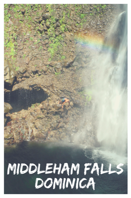 Middleham Falls, Dominica - A Hike to Remember #Dominica #Travel #Nature #Adventure #Waterfall