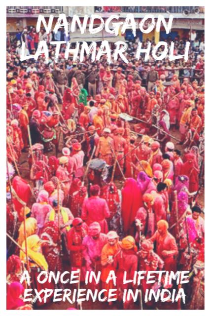 Nandgaon Holi - A Colourful Experience #India #Travel #Holi #Festival