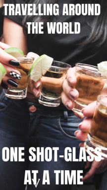 Traveling the World One Shot Glass At A Time #Travel #World