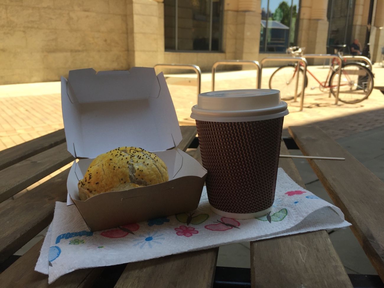 Flat White and Potato Bomb