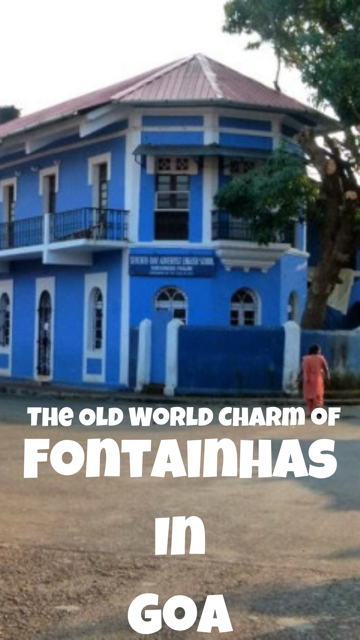 The Old World Charm of Fontainhas in Goa #India #Travel #Colour #Houses