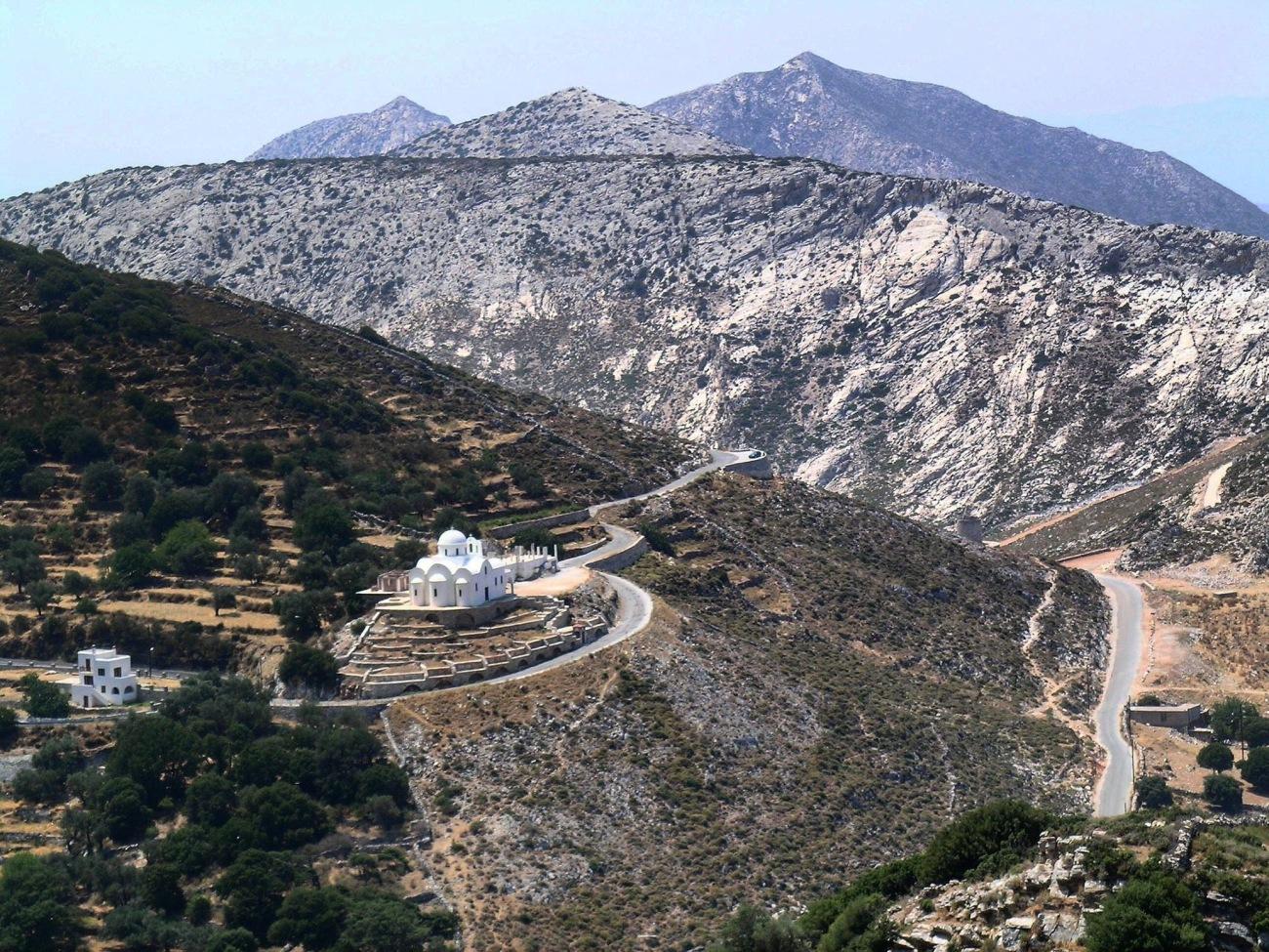 Riding to Chora - Amorgos
