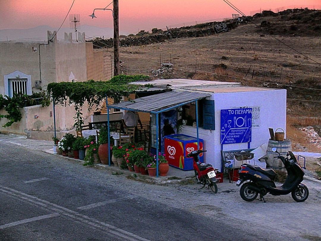 Roadside Eating - Amorgos
