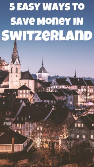 5 Ways to Save Money in Switzerland #Money #Tips #Switzerland #Travel