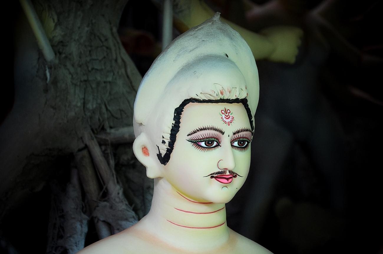 Durga Puja idols in Delhi
