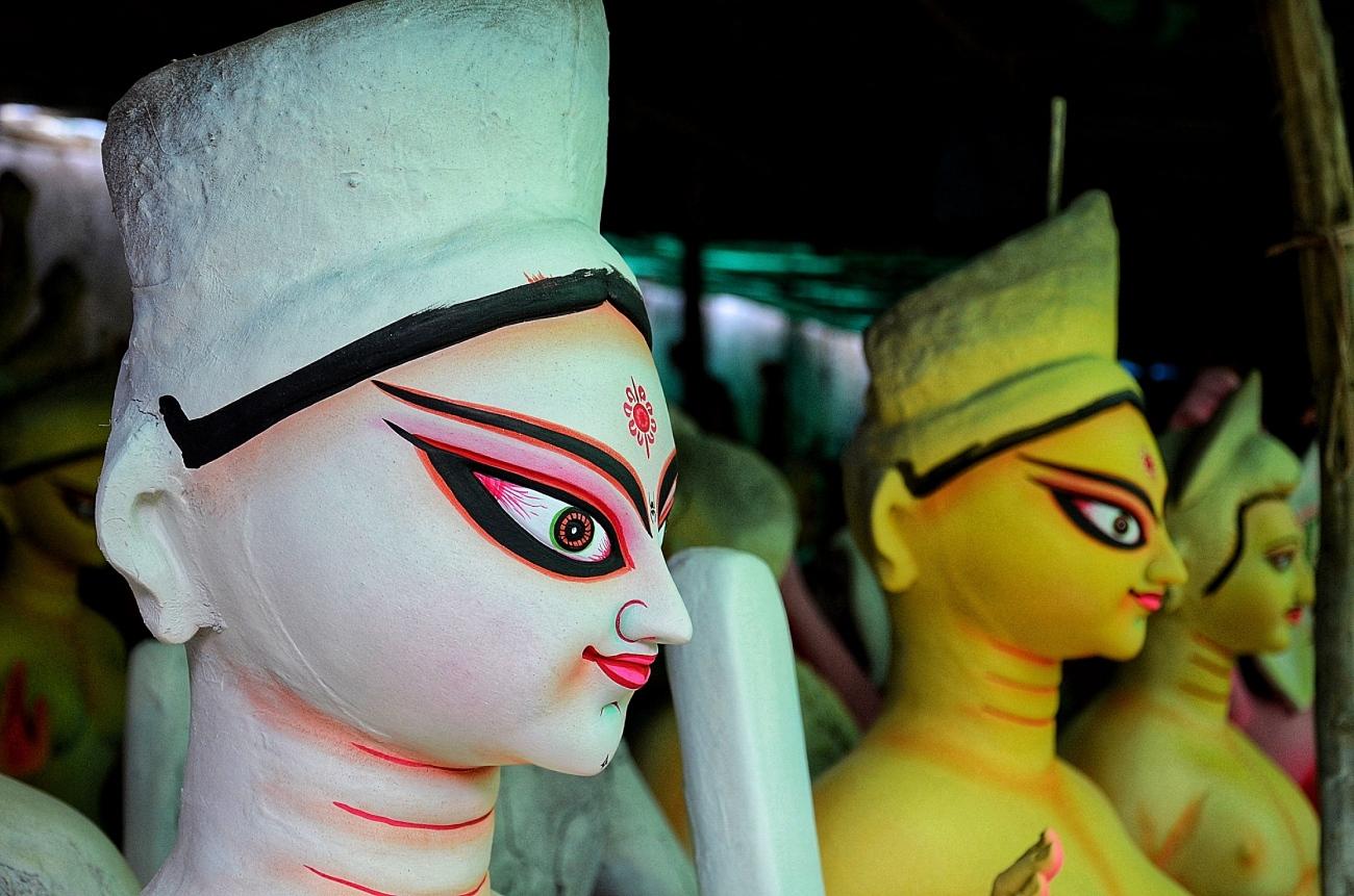Durga Puja idols