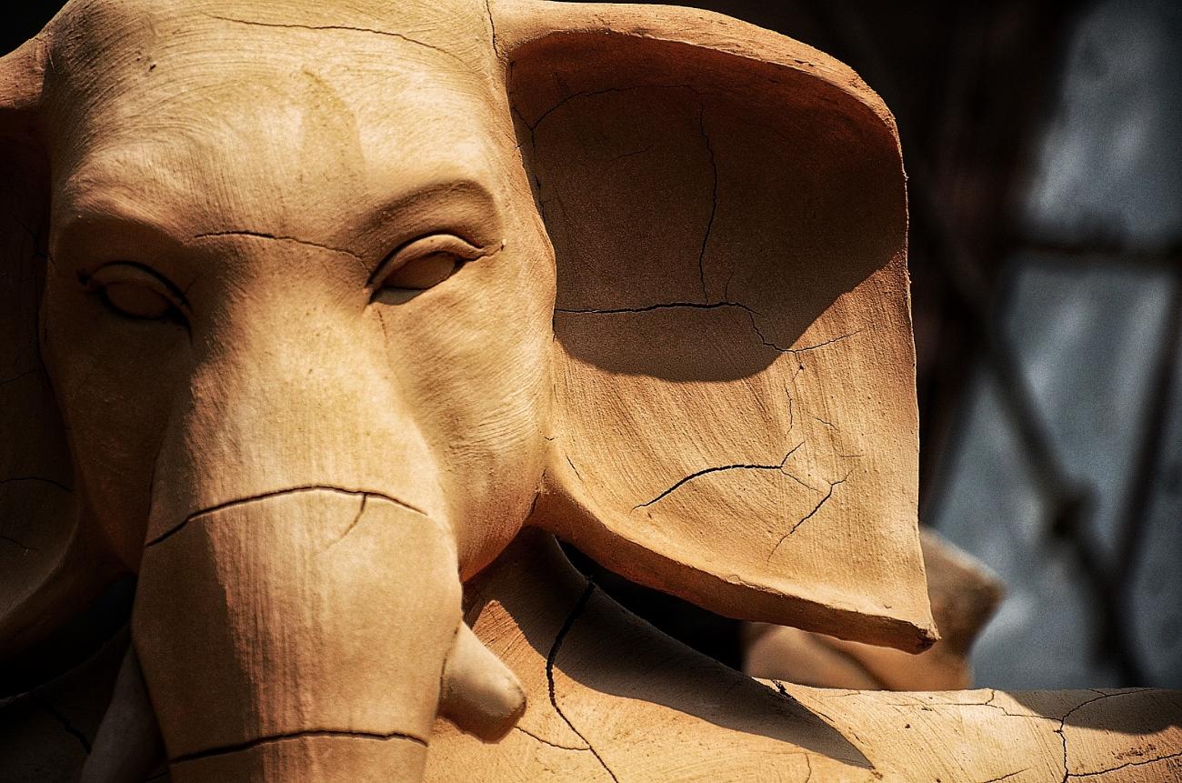 Ganesha - Durga Puja idol