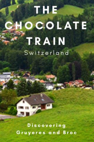 The Chocolate Train, Switzerland #Montreux #Gruyeres #Broc #Cailler