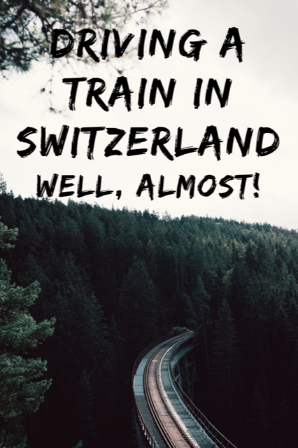 Almost Like Driving a Train in Switzerland #Travel #Train #Switzerland