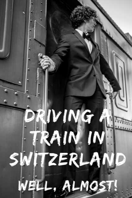 Driving a Train in Switzerland #Train #Travel #Swiss