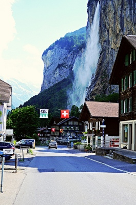 Lauterbrunnen Main Road