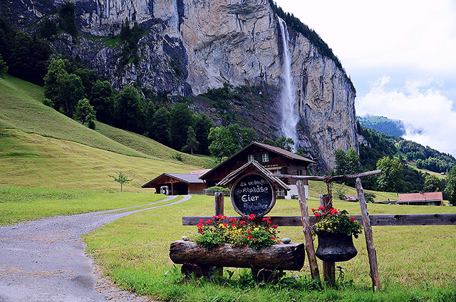 lauterbrunnen living eating in the land of waterfalls ticker eats the world. Black Bedroom Furniture Sets. Home Design Ideas