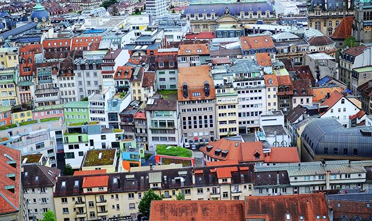 Colourful Lausanne