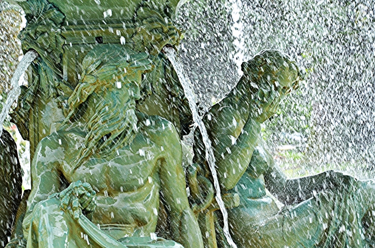 Fountain at the English Garden, Geneva