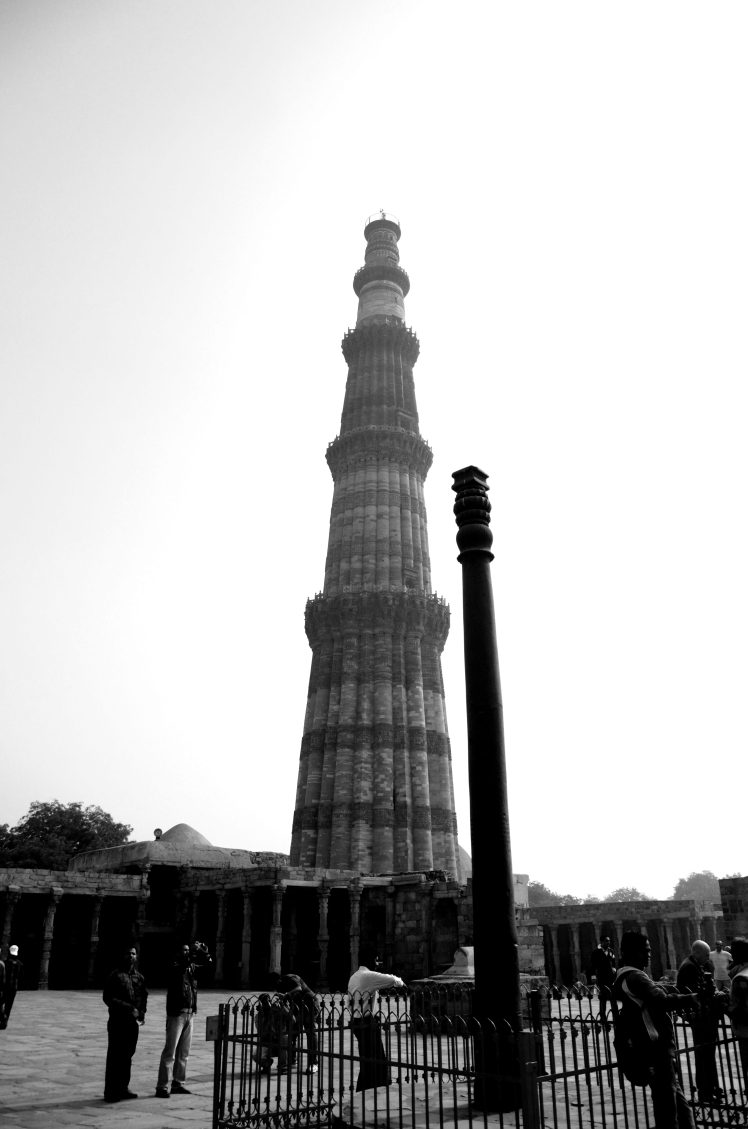 Iron Pillar & Qutub Minar