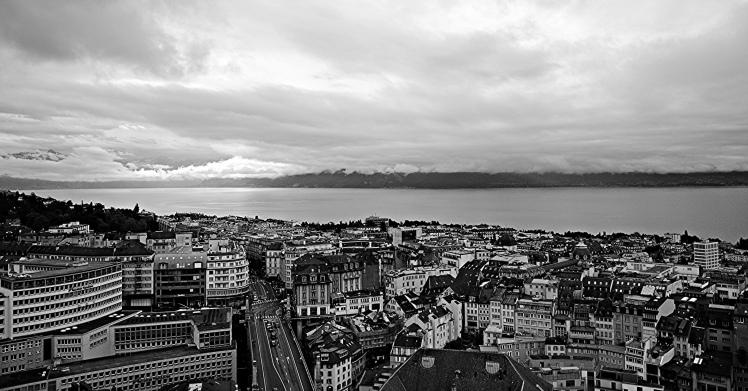 Lausanne B&W