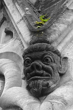 Lausanne Cathedral Face 2