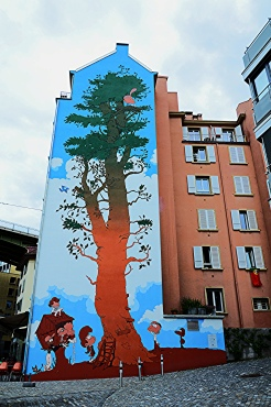 Lausanne Street Art 1
