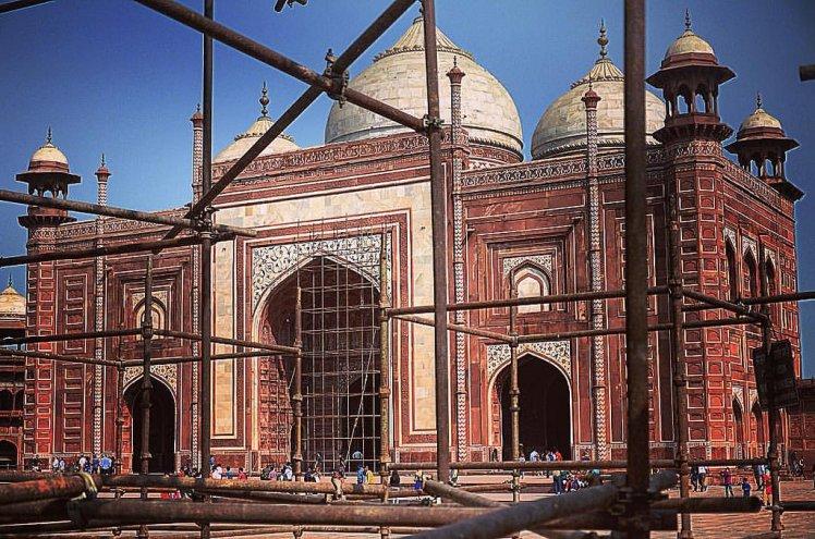 Mehman Khana also known as Jawab at Taj Mahal, Agra