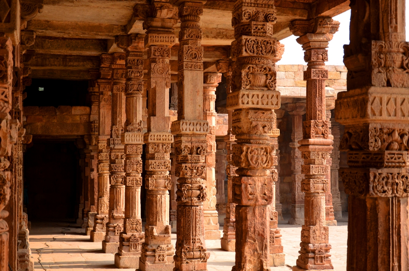 Pillars - The Qutub Minar Complex