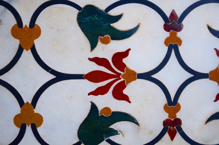 The Taj Mahal - Precious and Semi-Precious Stones
