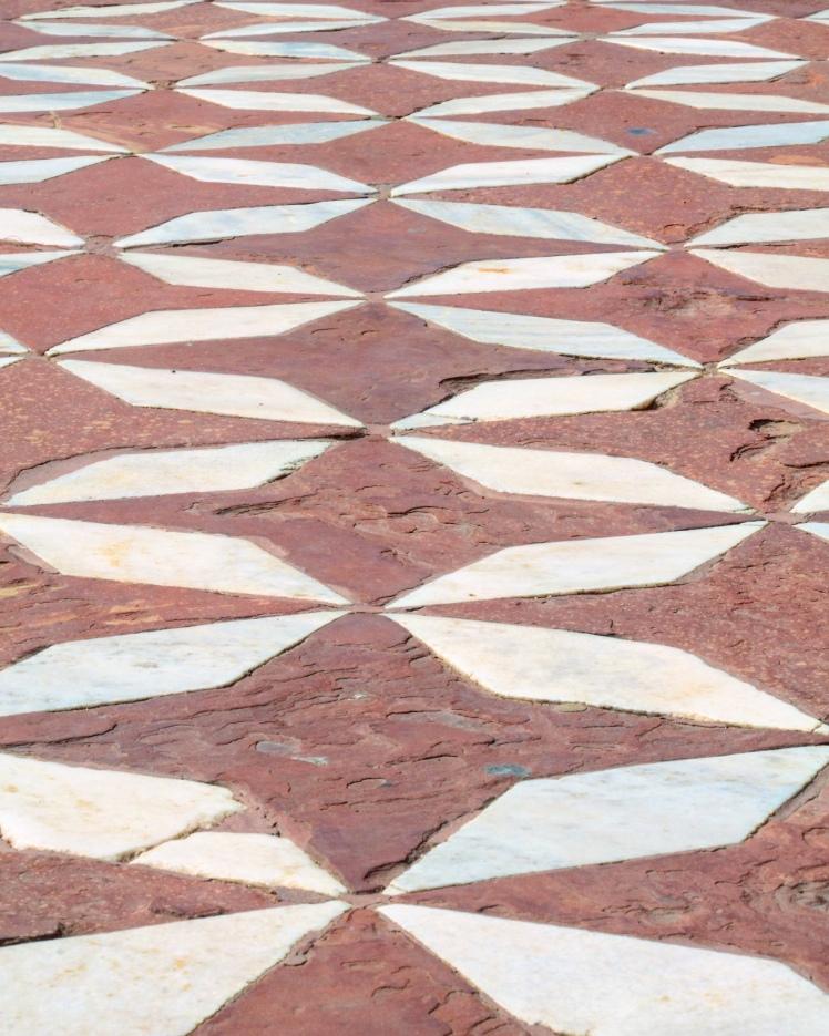The Taj Mahal - The Floor Outside