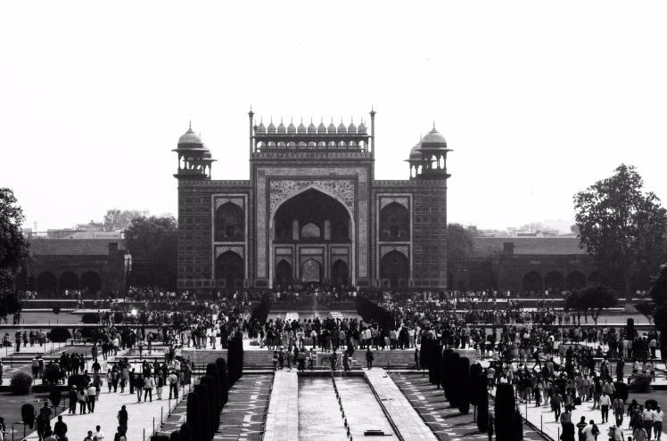 The Main Gate - Taj Complex
