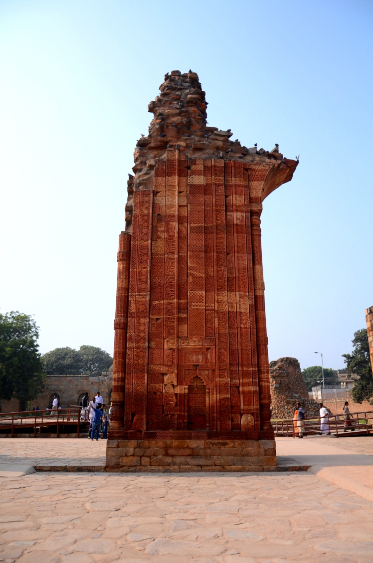 Walls and Arches - What Remains at The Qutub Minar Complex