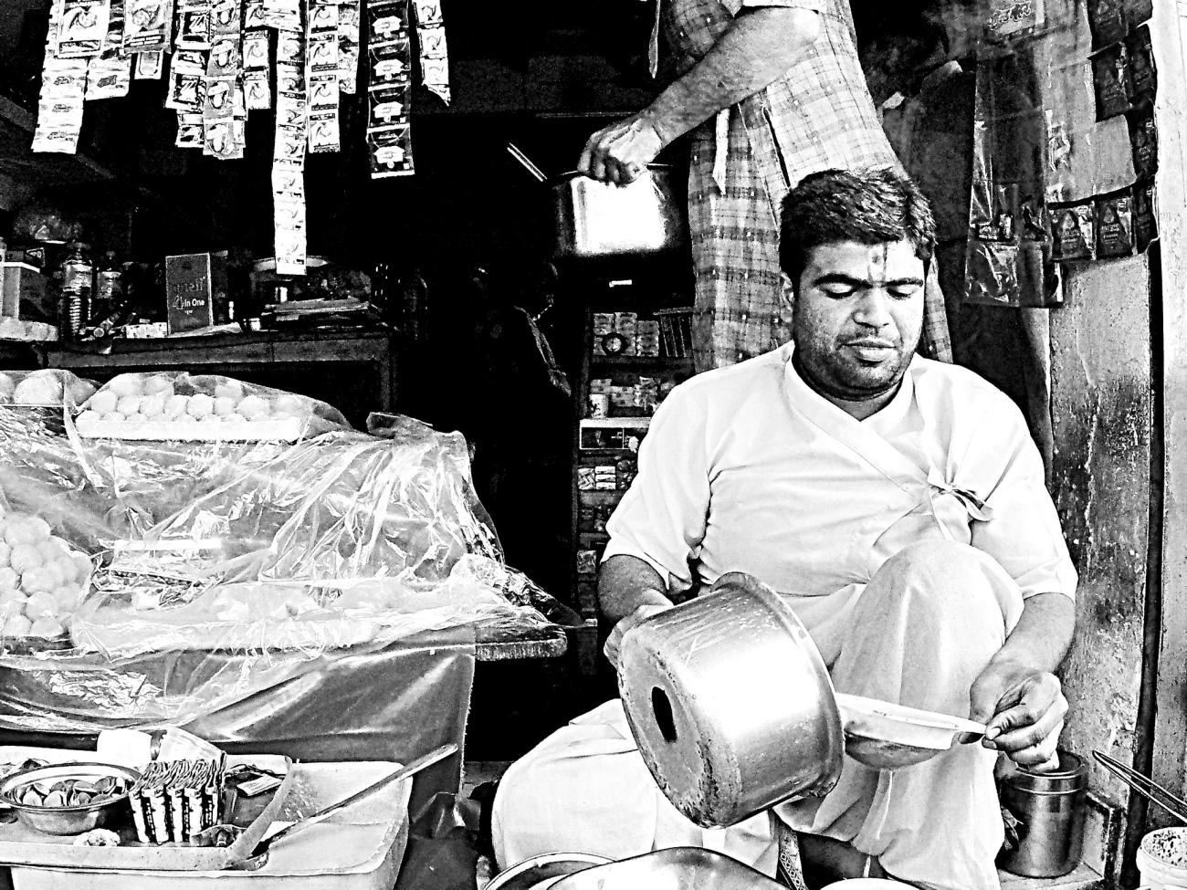 Tarun the Tea Seller