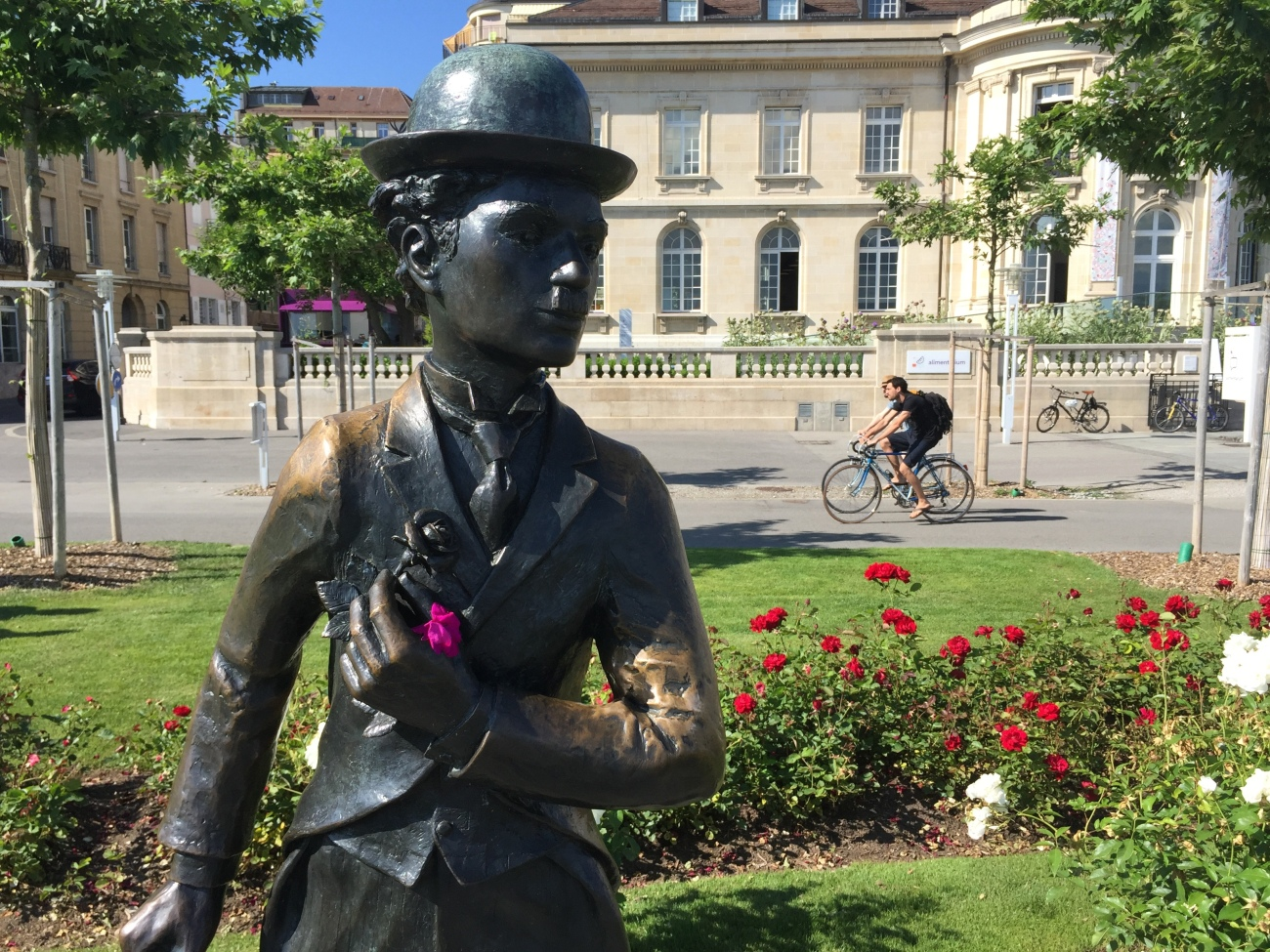 Chaplin in Vevey