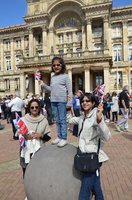 Meeting the Queen in Birmingham