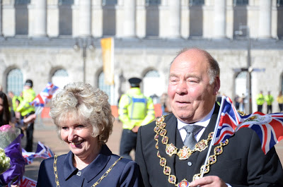 The Mayor and Mayoress of Birmingham