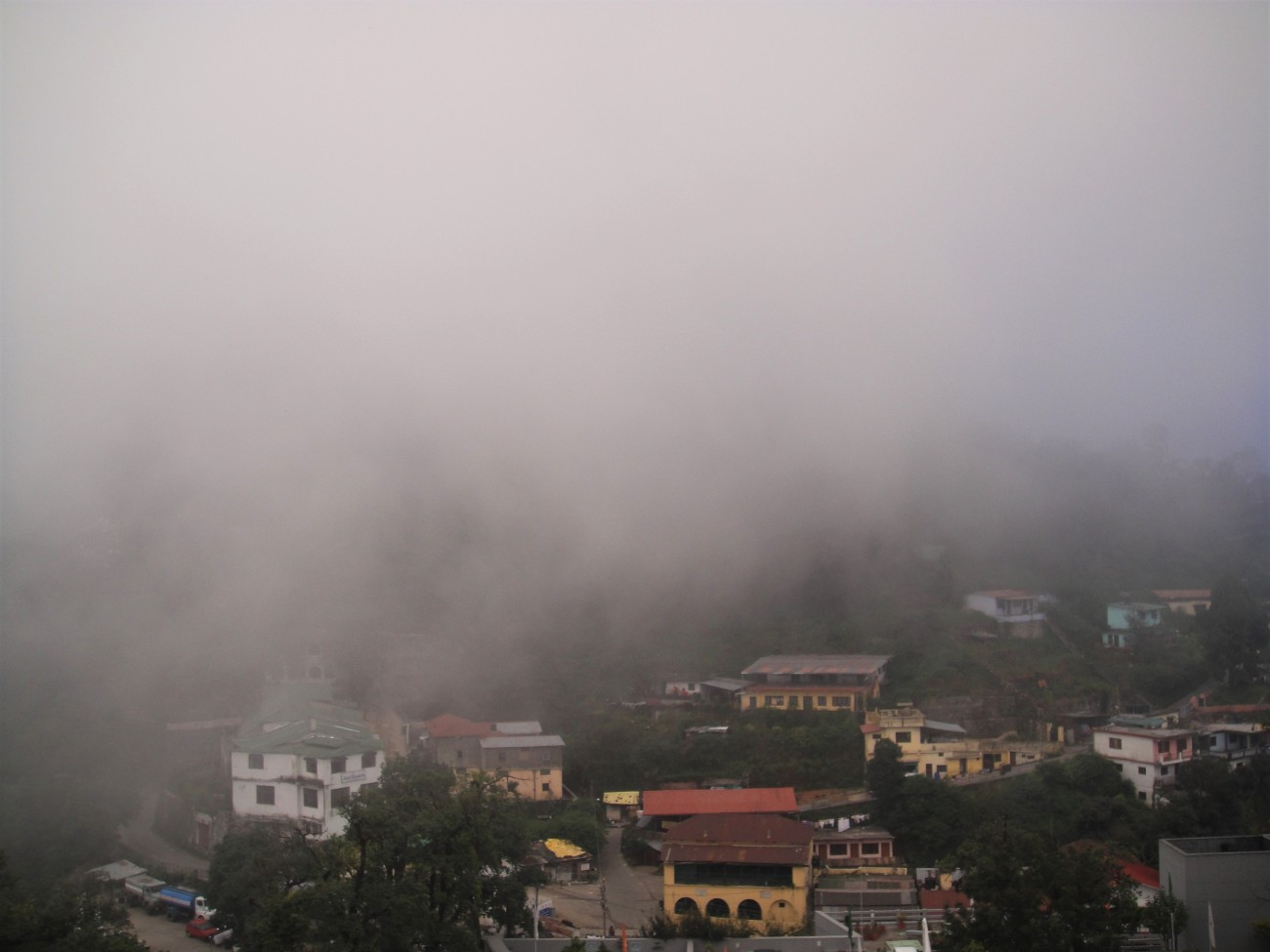 A Misty Mussoorie