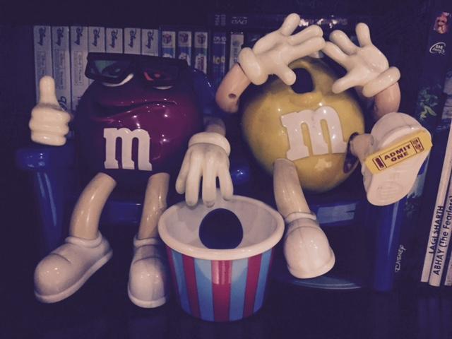 M&Ms Movie Dispenser