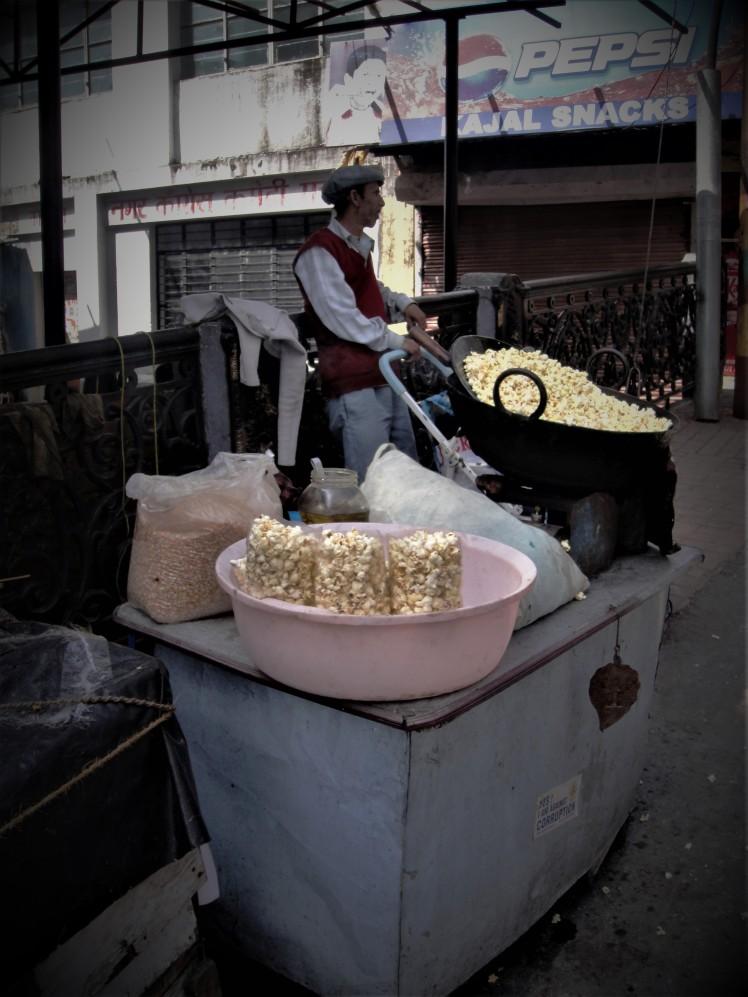 Popcorn in Mussoorie