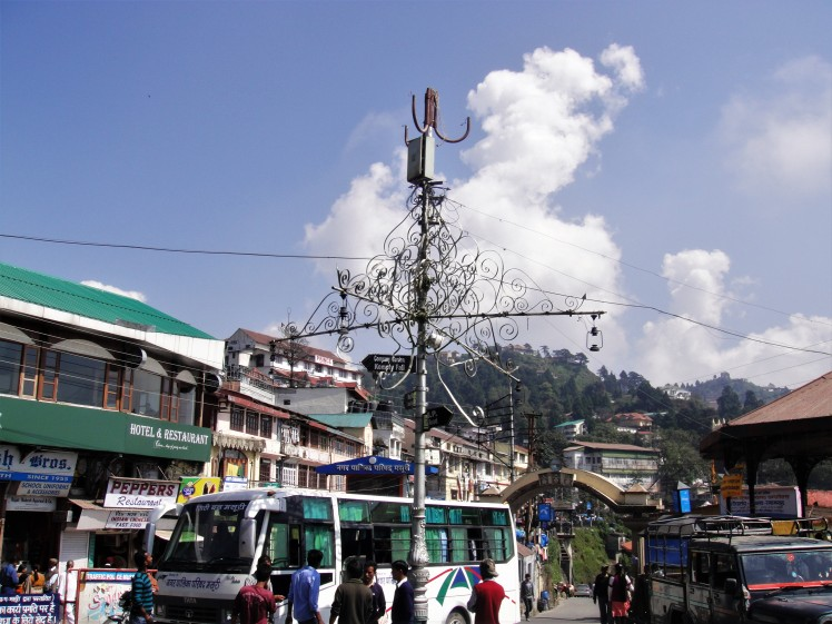 The Crowds at Mall Road Mussoorie