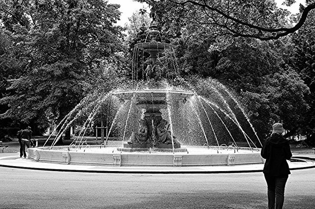 Fountain - English Garden Geneva