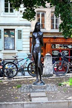 Sculpture Old Town Geneva