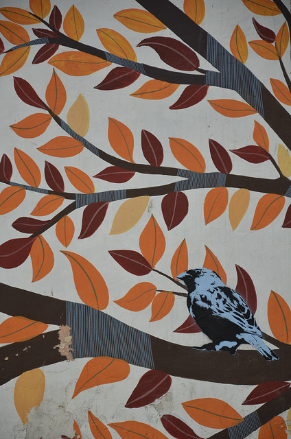 Birds and Leaves - Lodi Art District