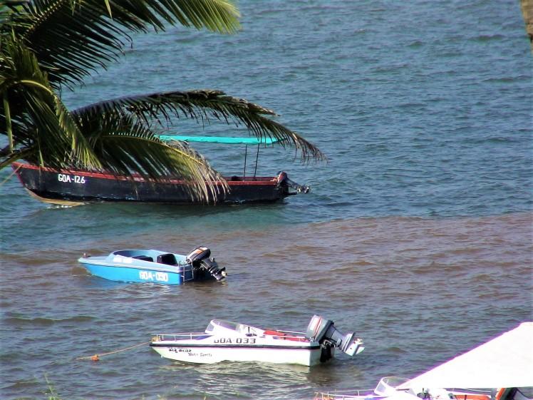 Boats in the Arabian Sea - Goa