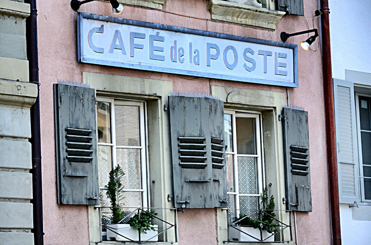 Cafe de la Poste - Cully
