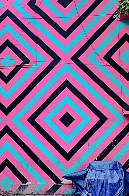 Designs and Colour - Urban Art