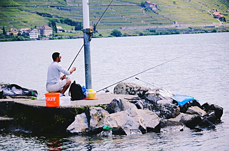 Fishing in Cully