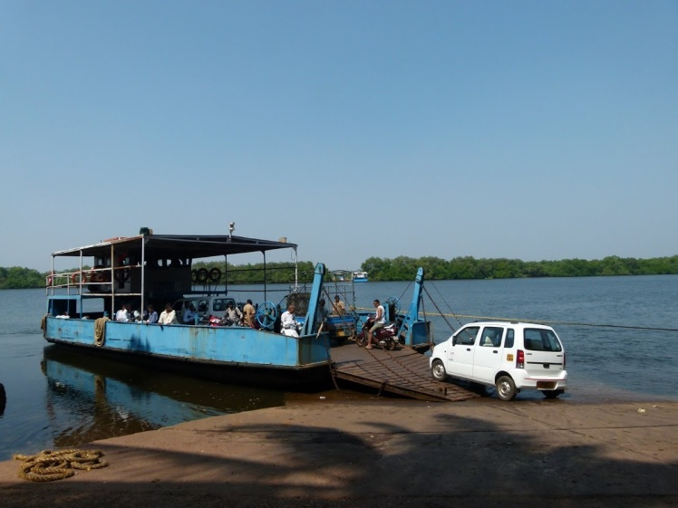 River Ferry Crossing - Sudha G