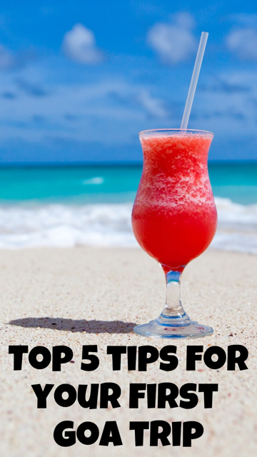 Top 5 Tips for Your First Goa Trip #Travel #Goa #Beach