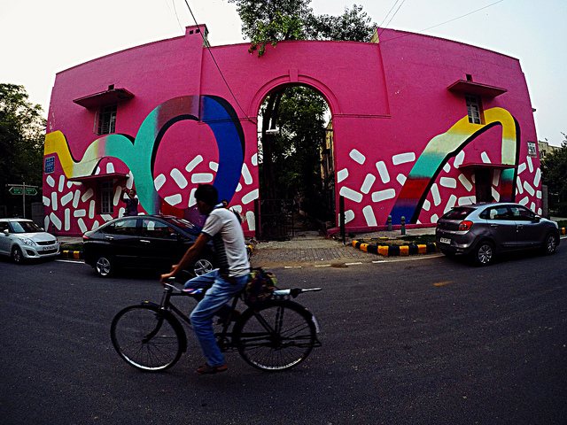 Urban Art in New Delhi
