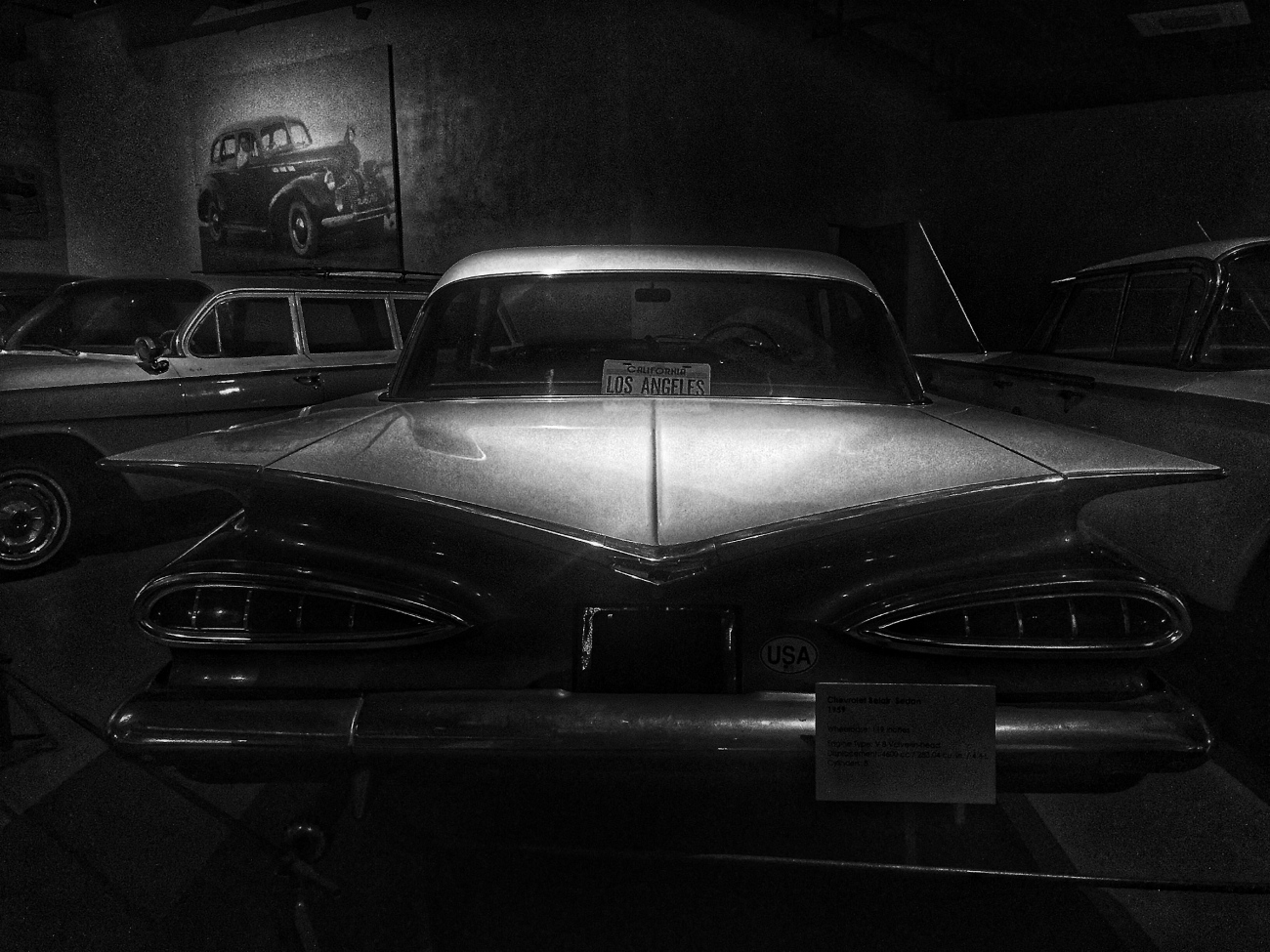 Blak and White at The Heritage Transport Museum